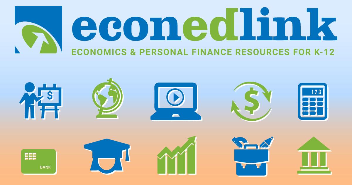 EconEdLink - Free economics and personal finance resources