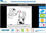 Image Annotation Tool for Retire No More Cartoon