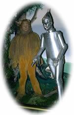 lion and tin man