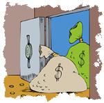 Money in Vault